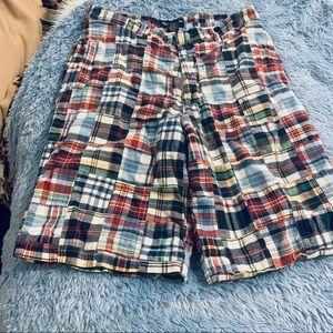 Vintage Abercrombie & Fitch patchwork Men's short
